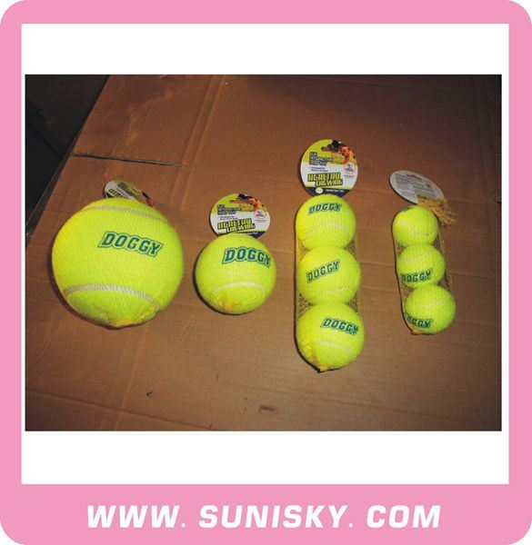Pet Toys Dog Tennis Toys Pet Training Toy