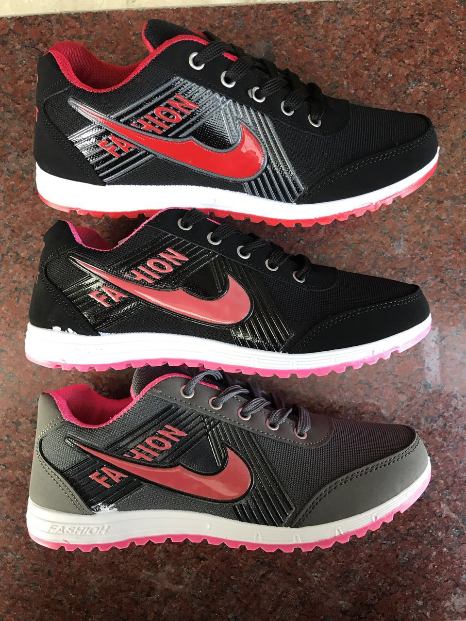 2017 New Arrival Sports Shoes Custom Fashion Sneaker Unisex Running Shoes