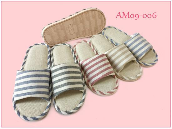 New Hot Linen Summer Open PVC Slippers