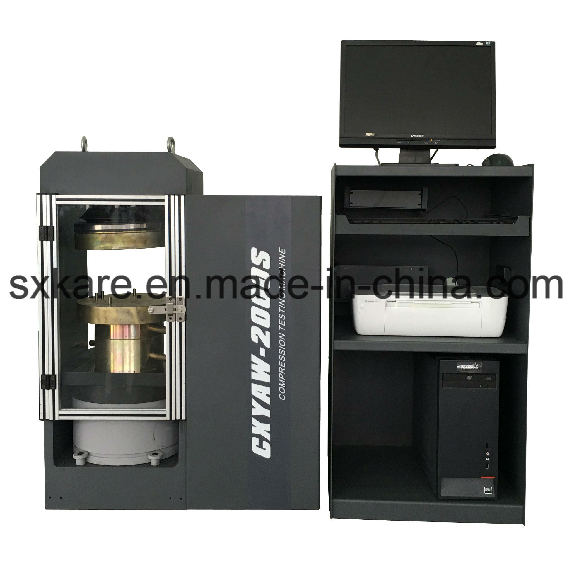 0.5 Grade Computerized Electr0-Hydraulic Servo Compression Testing Machine (CXYAW-2000S)