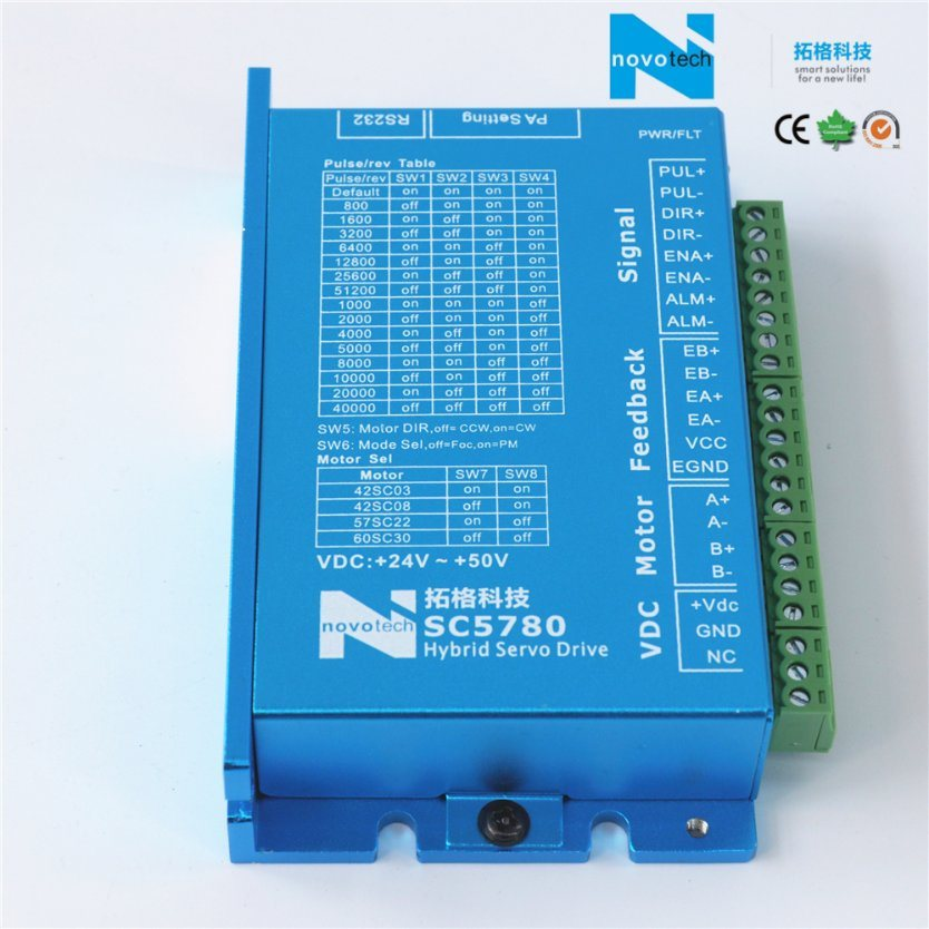 Sc5780 Separated Close-Loop Hybrid Servo Driver