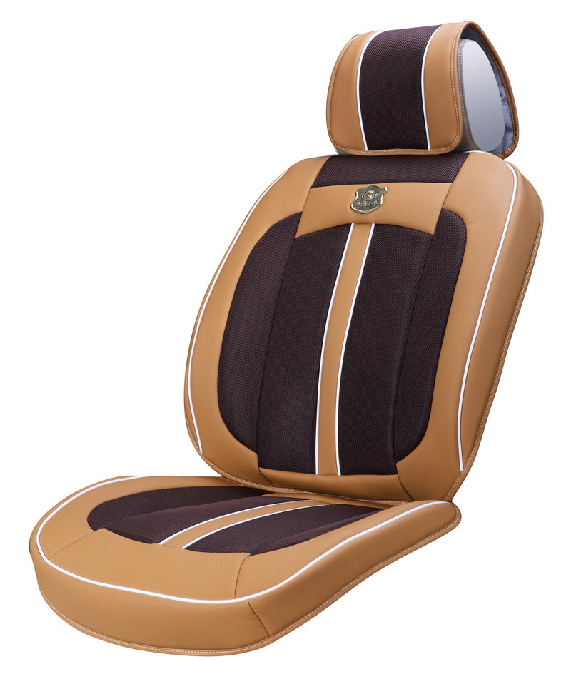 Car Seat Cushion 3D with Viscose Fabric Ice Silk