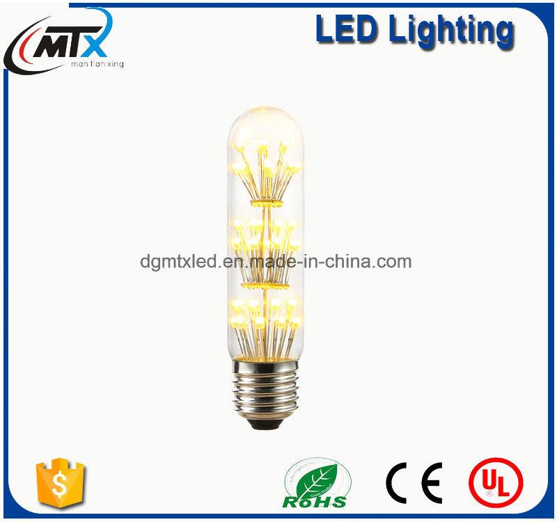 MTX LED tube lights Warm White Energy Saving 3W LED Decorative Babysbreath Bulb