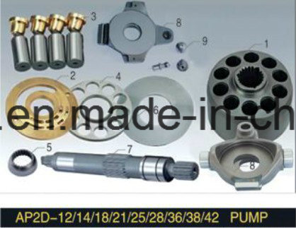 Uchida Series Piston Pump Engine Parts Ap2d25 Plunger Pump Cylinder Block Valve Plate Spare Parts