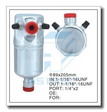 Auto Air Conditioner Part Receiver Drier (Aluminum) 89*205