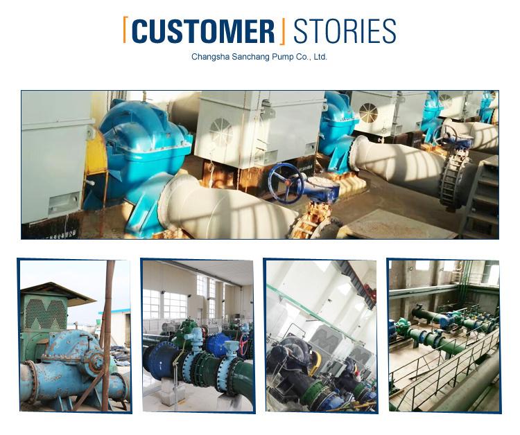 Split Case Huge Flow Municipal Delivery Water Pump