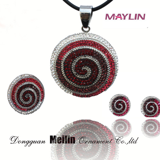 Wholesale Indian Plated Necklace Set Women Accessories Jewelry Wedding Suit