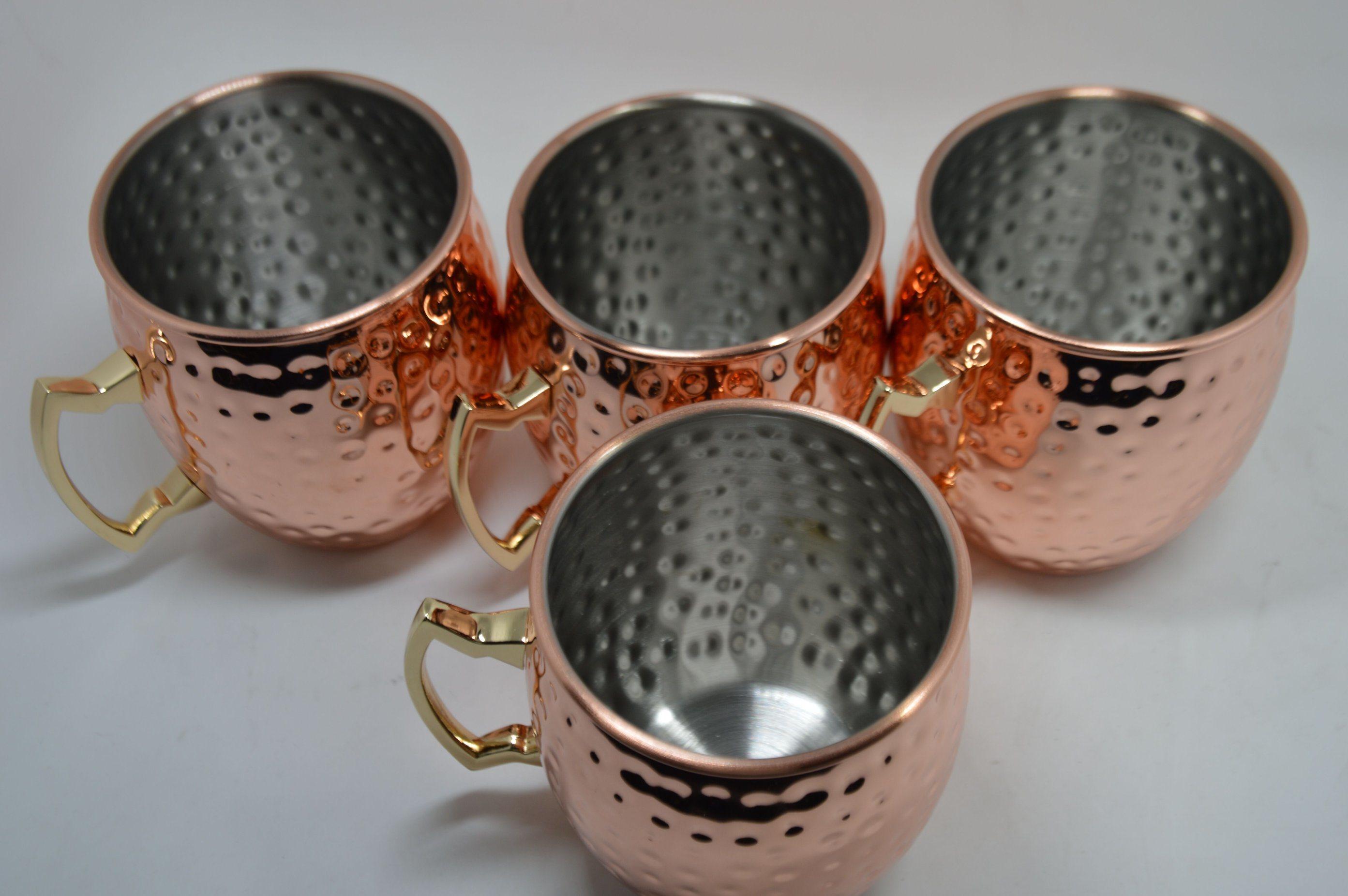 Moscow Mule Copper Mug 16oz