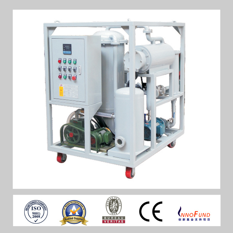 Gzl Vacuum Oil Purifier Series for High Viscosity Lubricanting Oil
