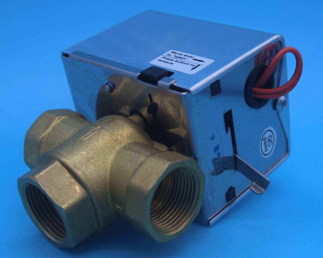 2 Way Electric Motorized Actuator Heating Diverter Mixing Valve (HTW-W27)