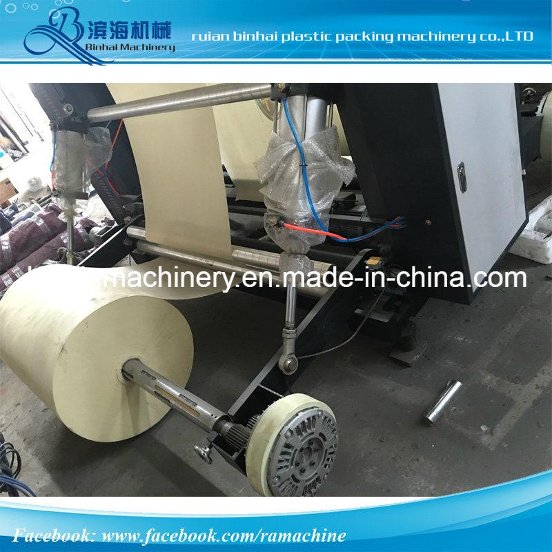Four Color Flexo Printing Machine Non Woven Fabric