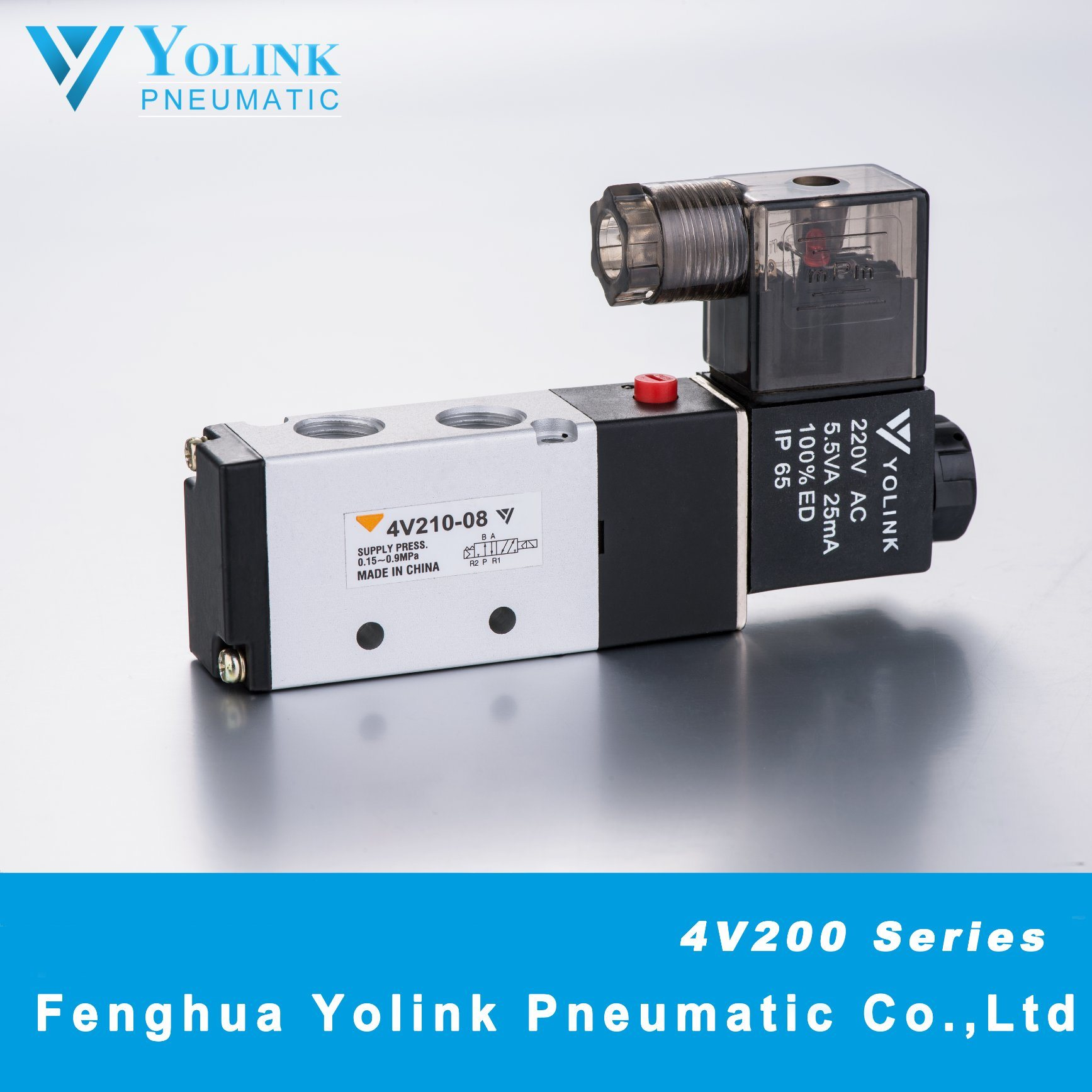 4V210 Series Pilot Operated Solenoid Valve