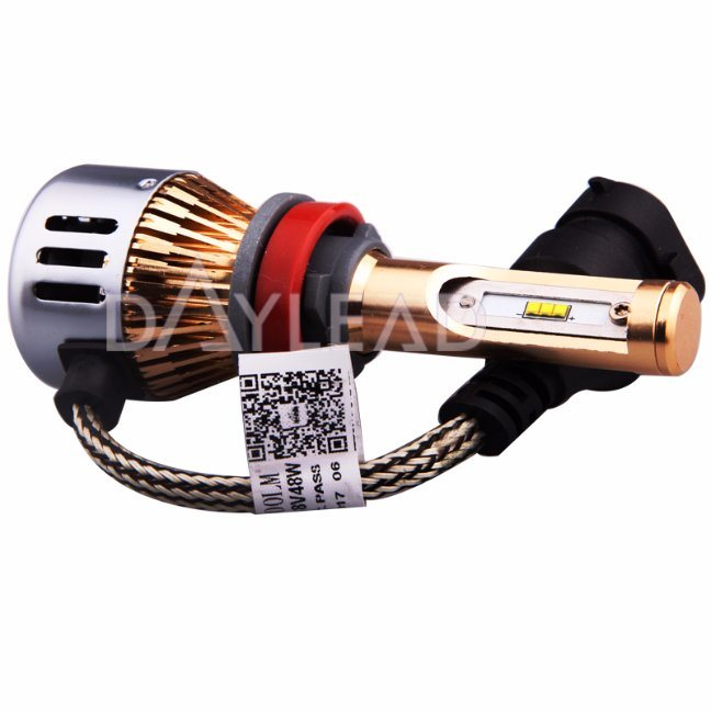 H11 LED Headlight Bulb/H8 H9 Lumileds Chip Low Beam Fog Light