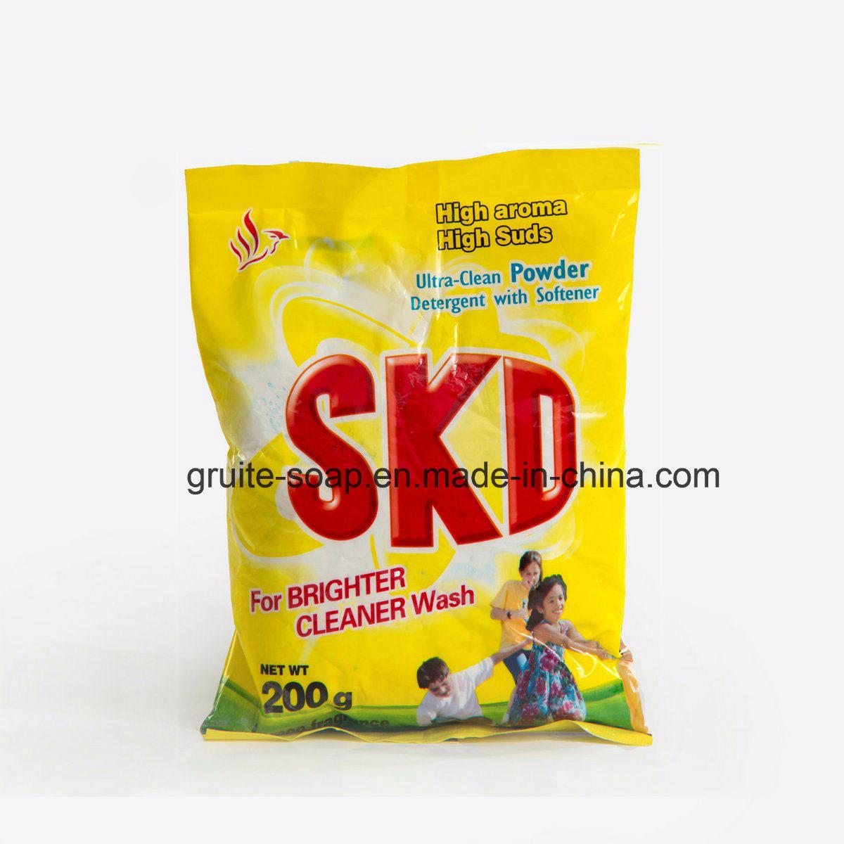 280-300g/L Low Density Rich Foam Detergent Washing Powder