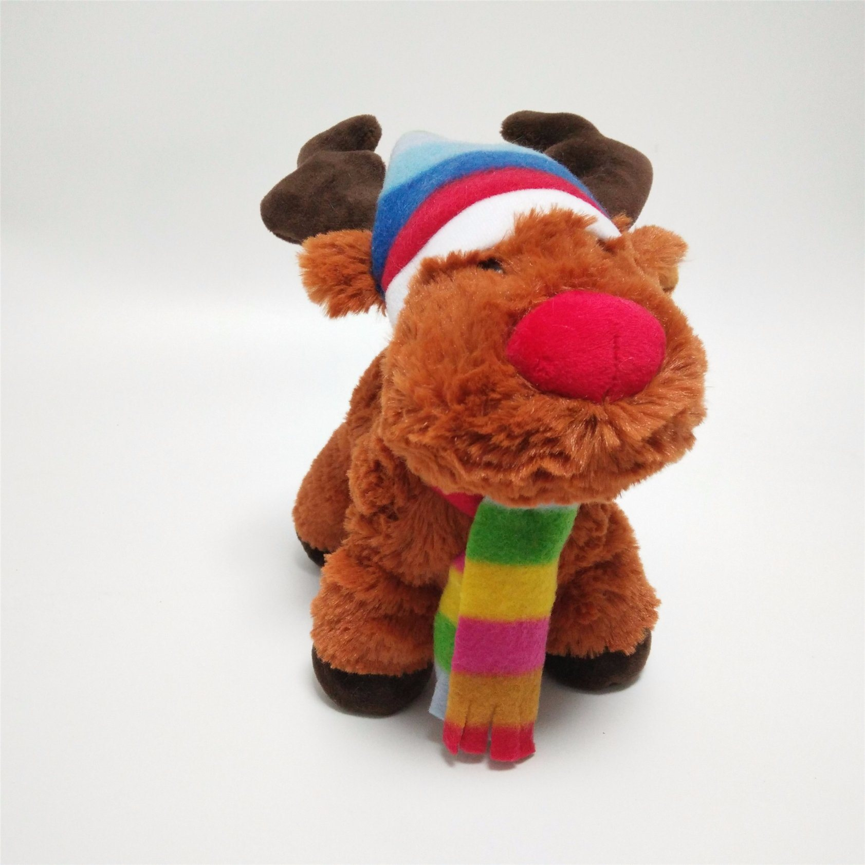 Xmas Snowy Days Gift Friends Moose Lovely Plush Toy