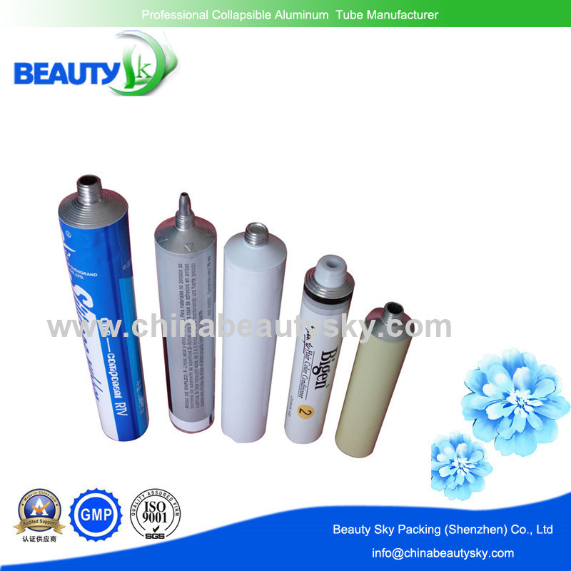 Long Nozzle Metal Packaging Tube for Glue / Adhesive / Ab Rubber