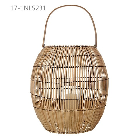 Fashion Antique Unique with Handle of Special Bamboo Lanterns