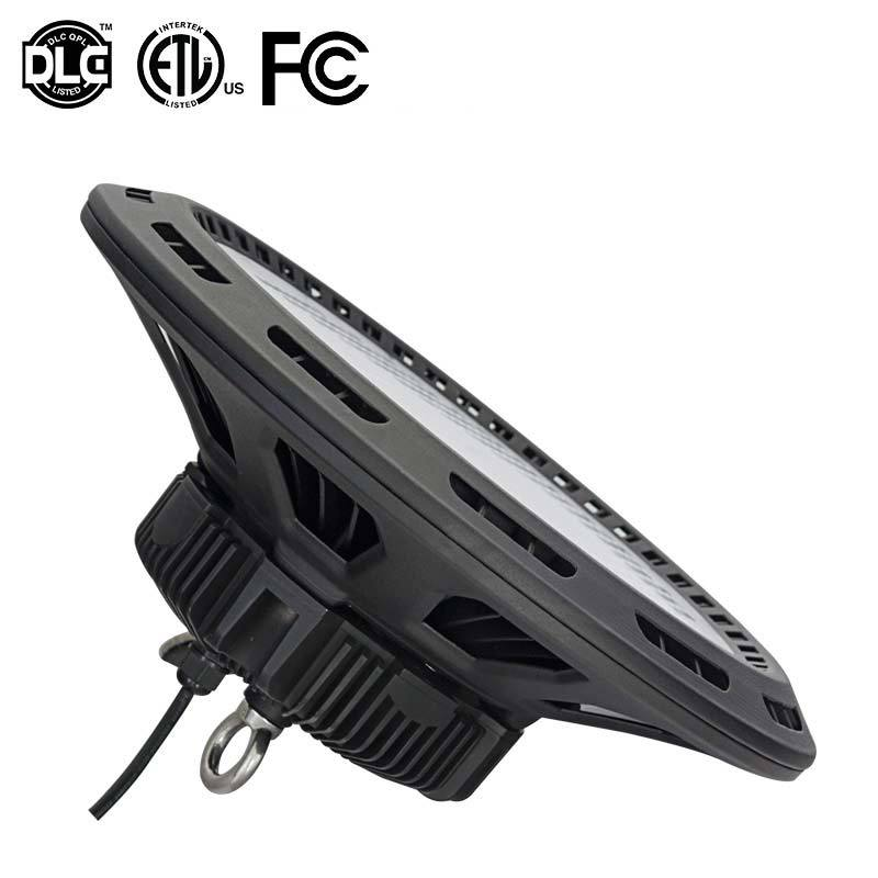 200W UFO LED High Bay Light with ETL FCC Dlc4.1 5 Years Warranty
