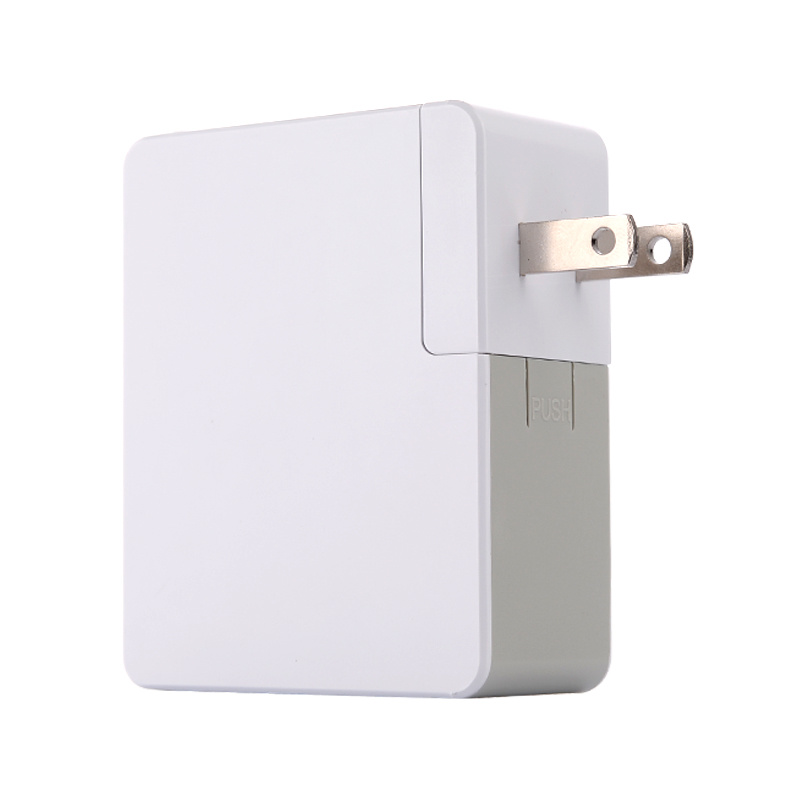 5V 4.8A 24W USB Smart Travel Wall Charger with Interchangeable Plug