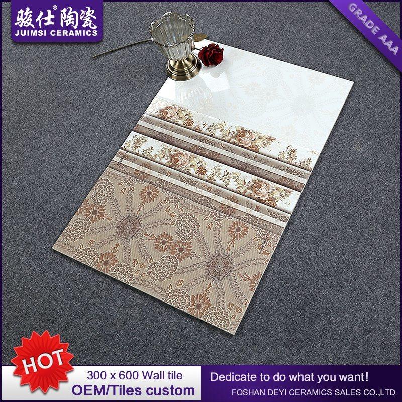Foshan Juimsi 300X600 Kitchen & Bathroom Ceramic Glazed Wall Tile