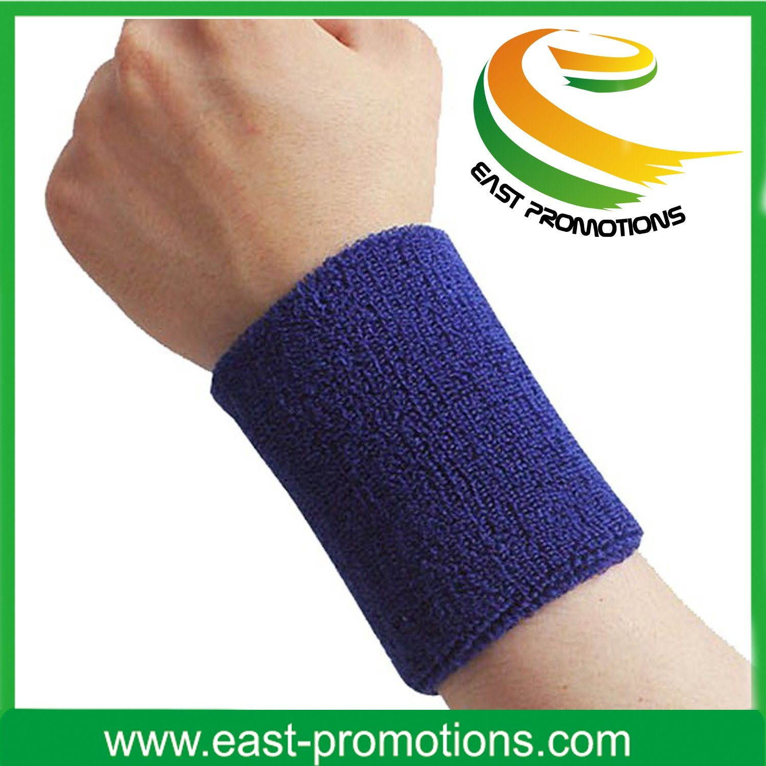 Promotion Sport Cotton Wristband Sweatband Headband Set
