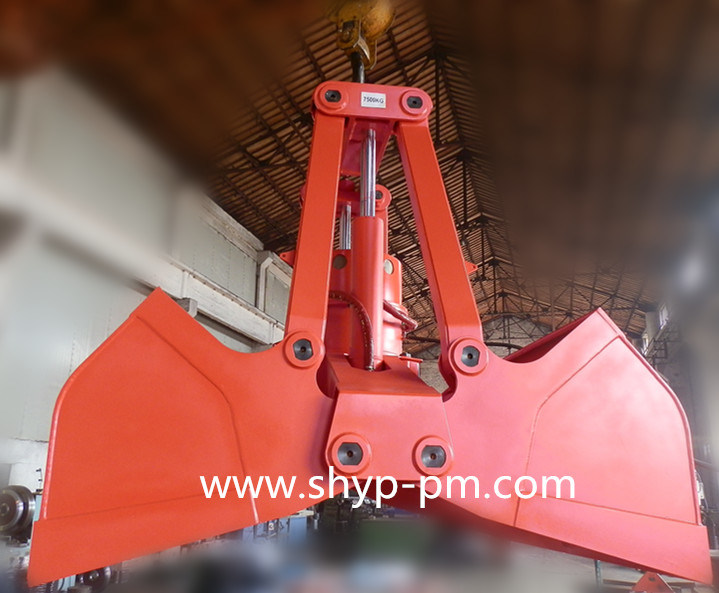 Motor Hydraulic Dual Scoop Grab with CCS Certificate