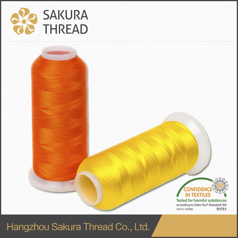 Polyester Embroidery Thread with High Tenacity for Jeans