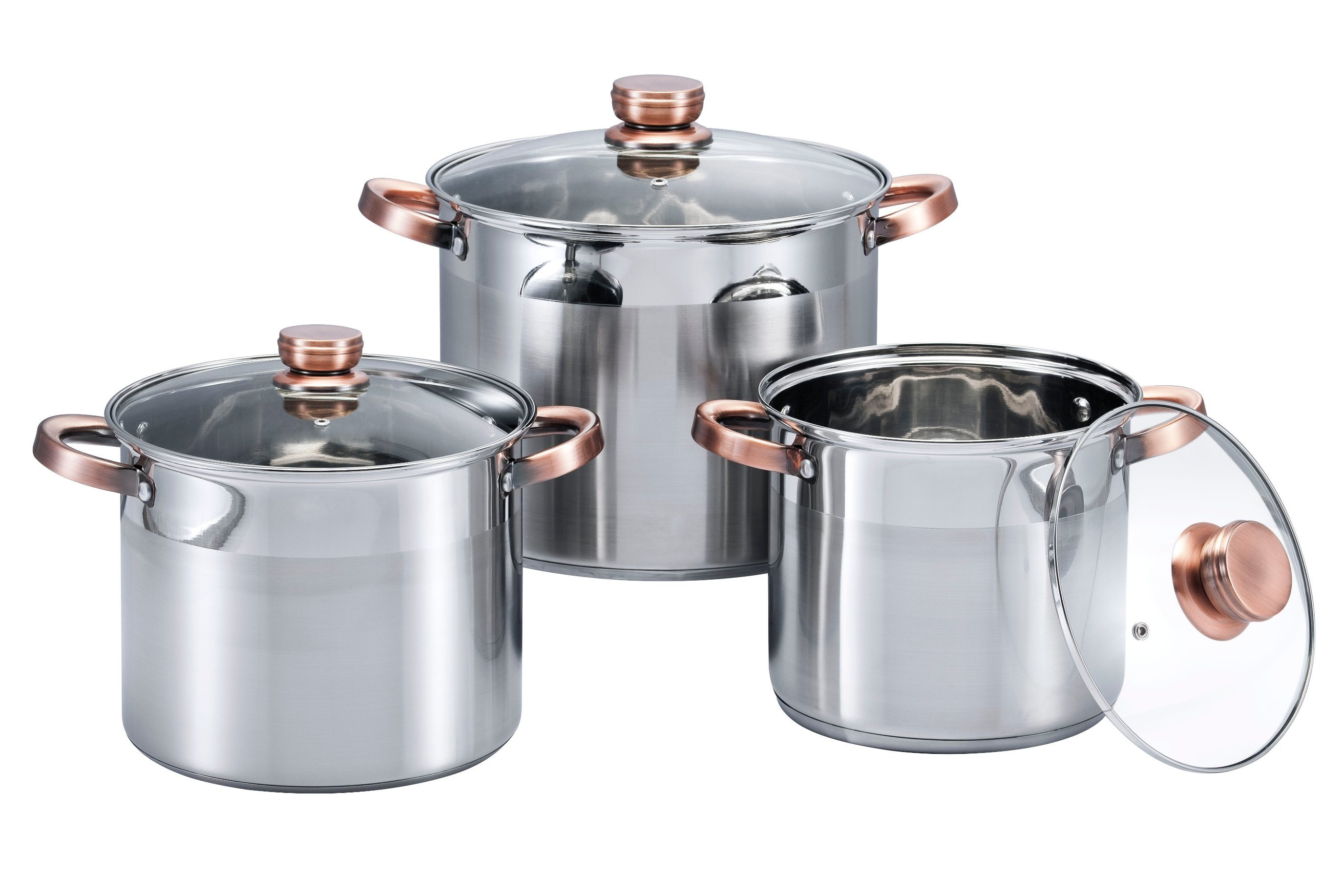 6 PCS High Pot Cookware Set