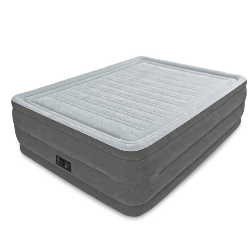 Standard Series Essential Rest Queen Size Inflatable Air Mattress with Built-in Electric Pump