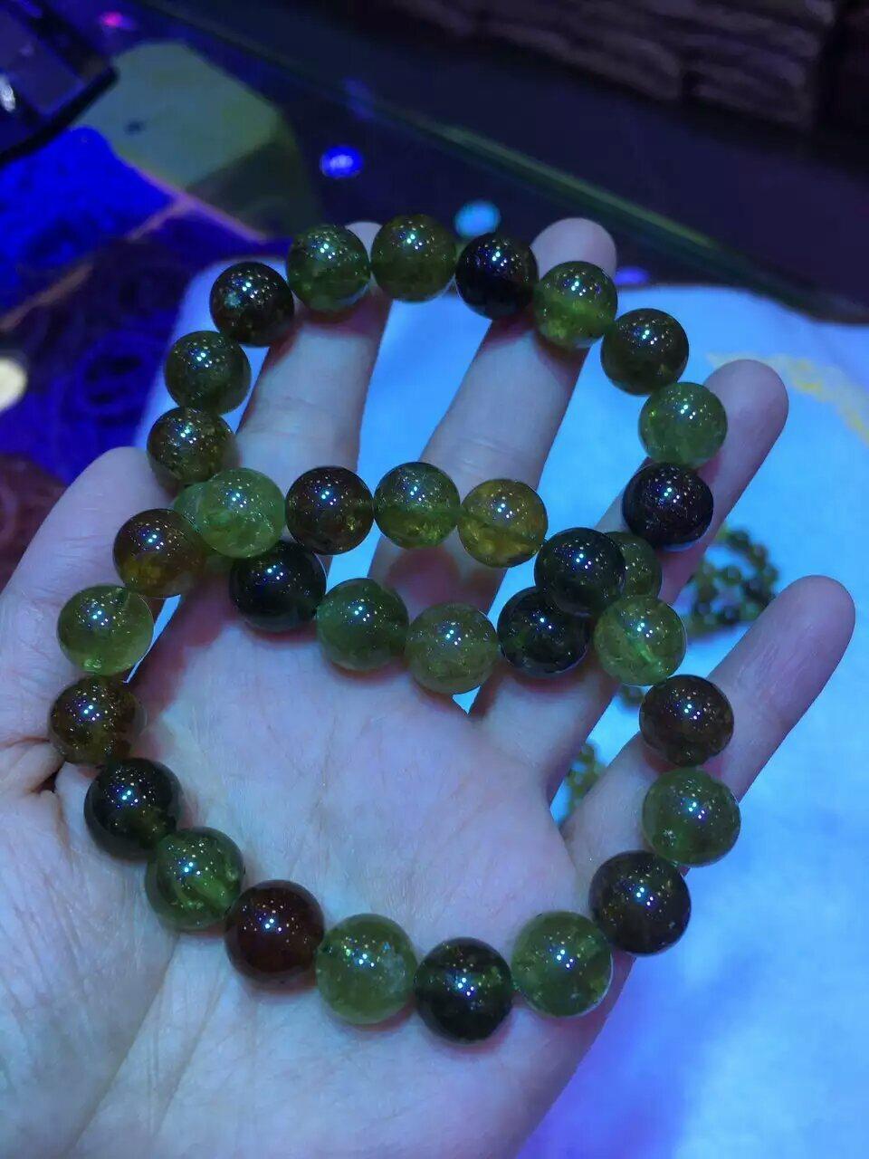 Fashion Gemstone Tsavorite Round Bead Jewelry