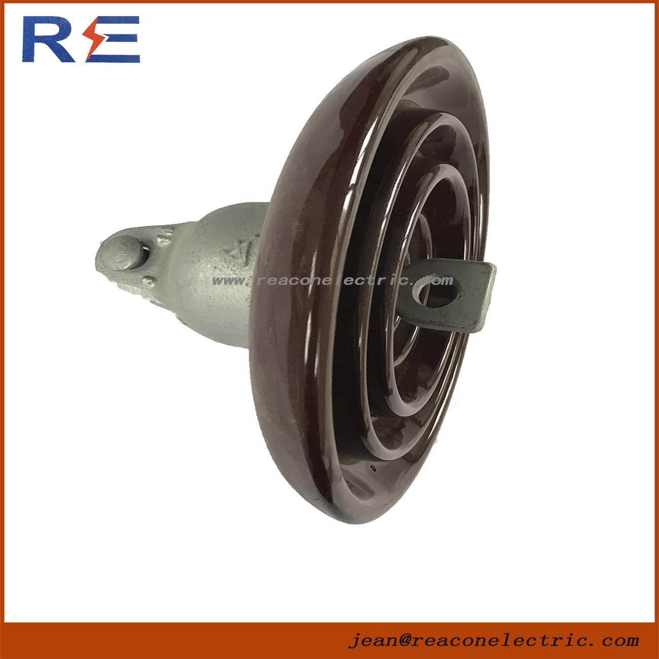 Disc Suspension Porcelain Ceramic Insulator