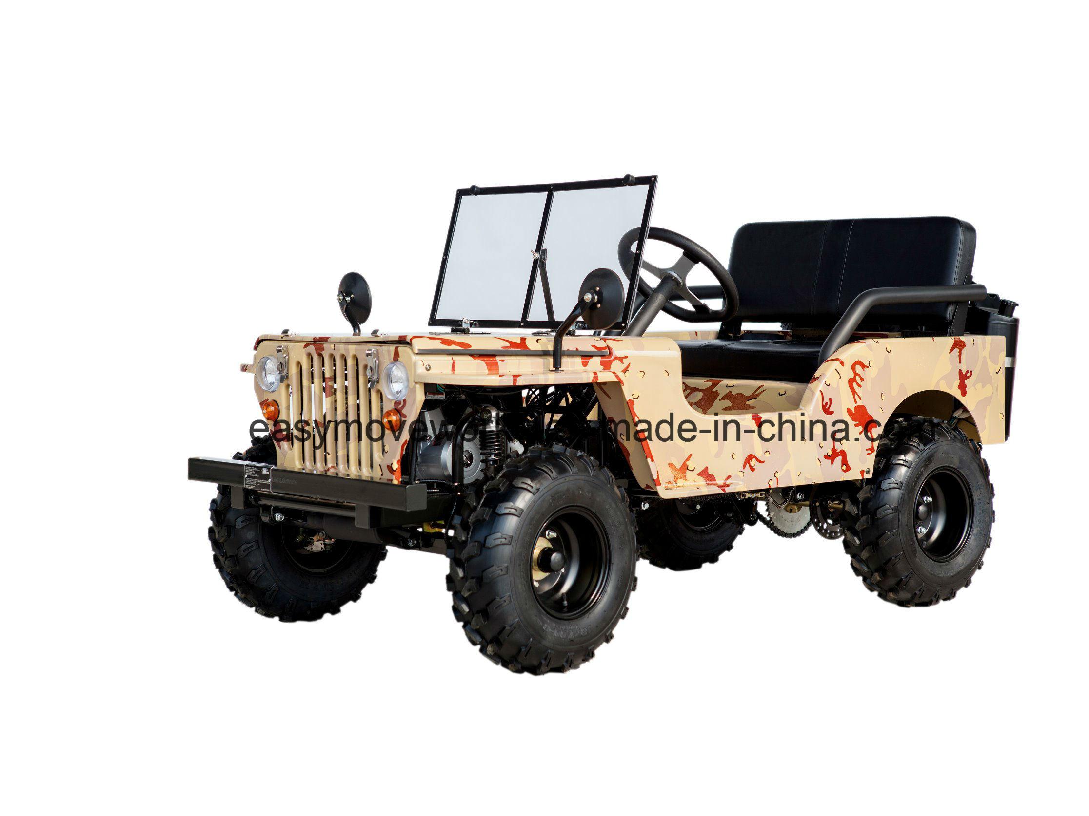 50cc Gasoline Mini Jeep for off Road