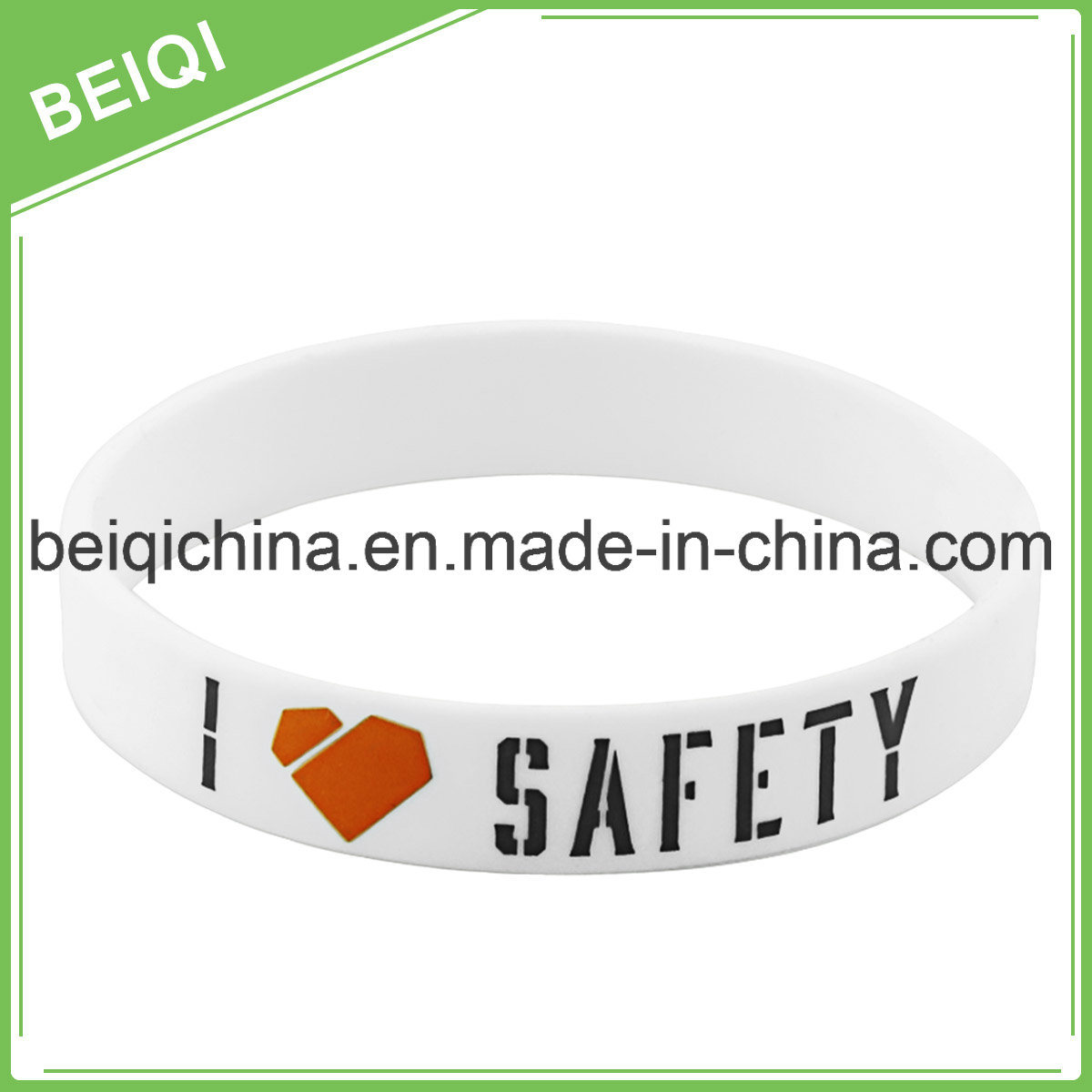 Personalized Rubber Silicone Bracelets for Hot Sell