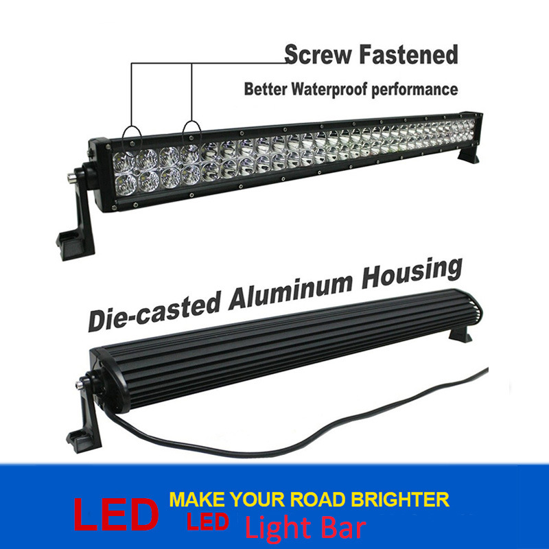 Waterproof LED Light Bar LED Bar Light 10-30 V Offroad LED Working Light Bar