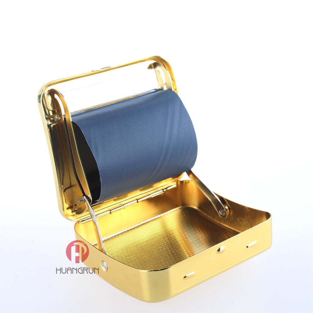 Gold Maetal Cigarette Rolling Machine