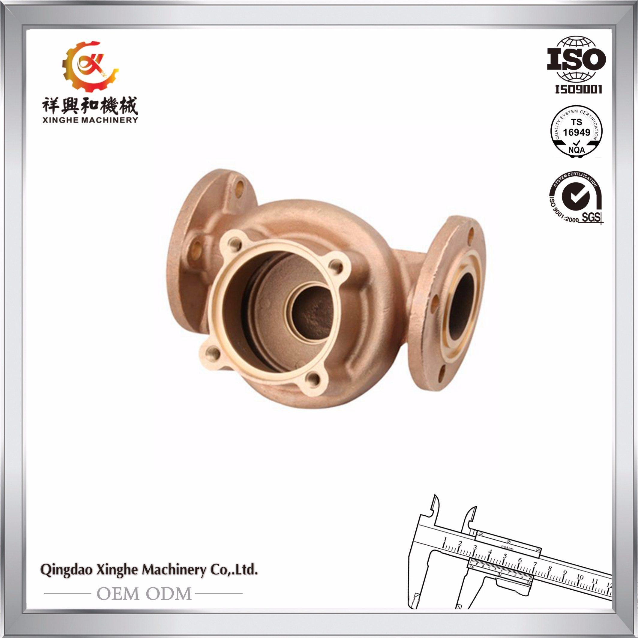Custom Brass Casting Brass Water Pressure Valve Pump Parts