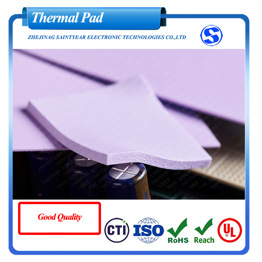 2.0 W Heat Transfer Materials Thermal Silicone Pad