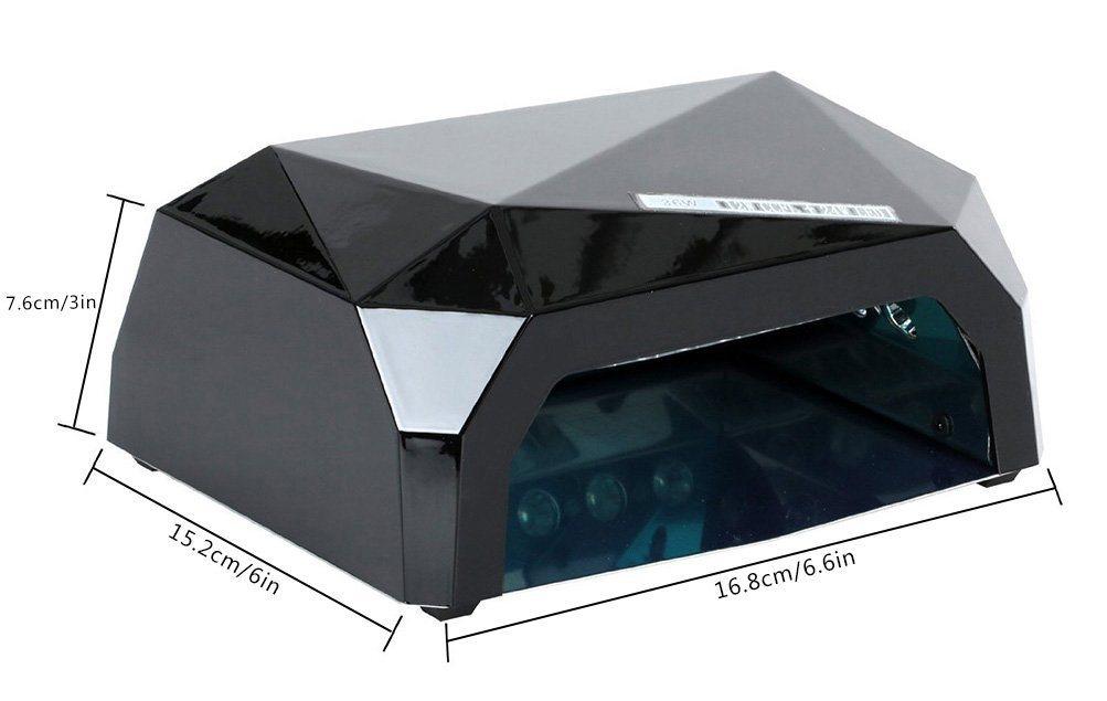 36W Curling Nail Gel Polish Dryer LED Nail Lamp