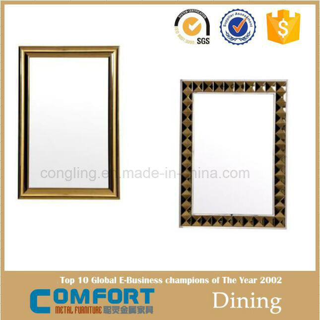 Rectangle Competitive High Quality Light Silver Decorative Bathroom Mirror
