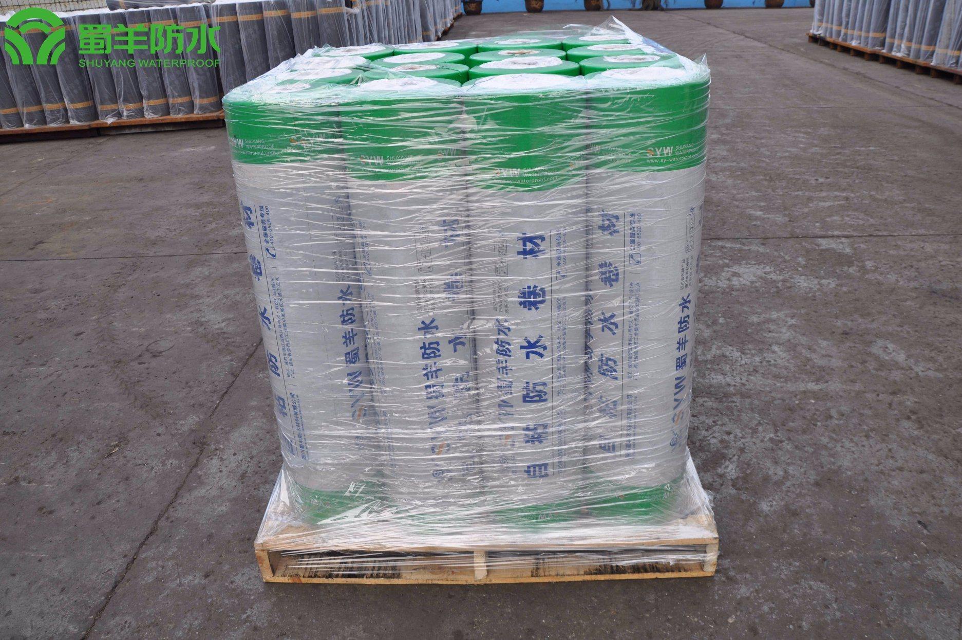 4mm SBS Waterproof Membrane Sand Surface PY Reinforced