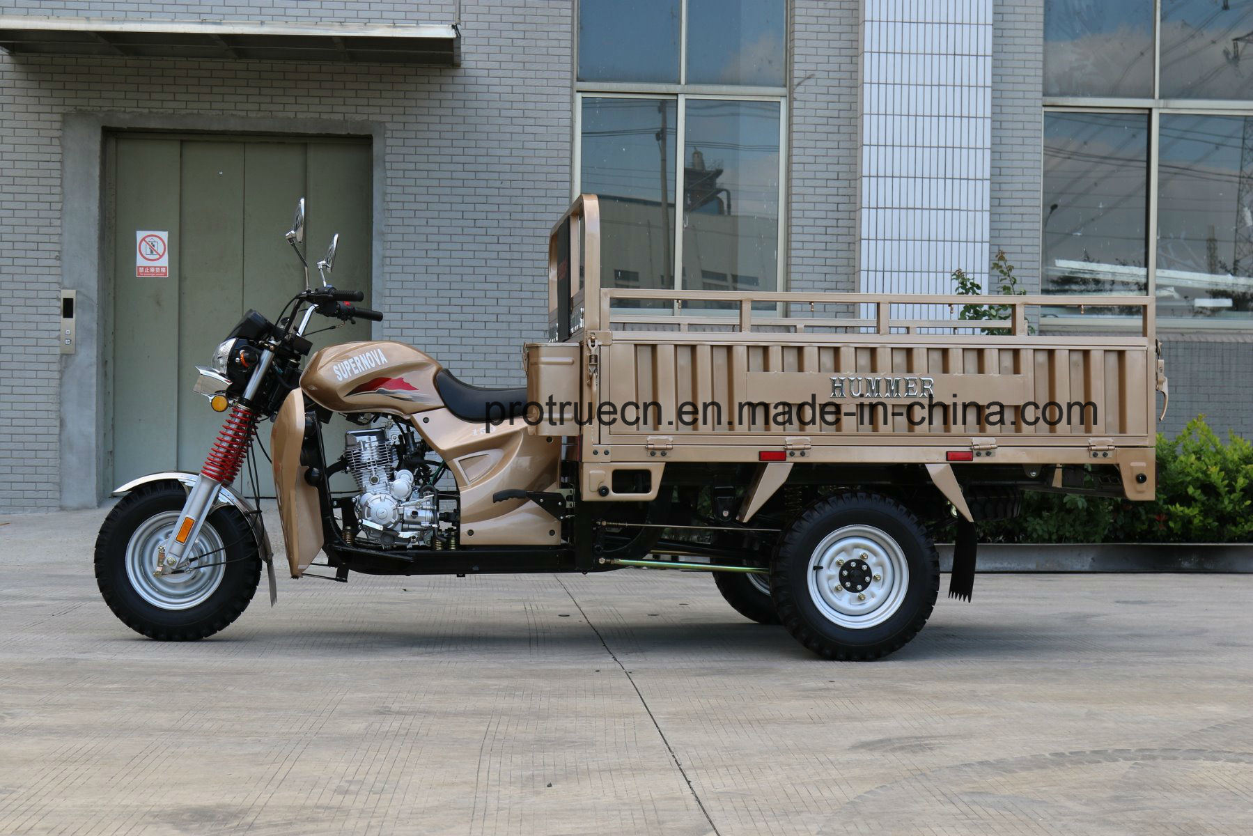 150cc Air Cooled Engine Three Wheeler Cargo Tricycle with EEC Motorcycle