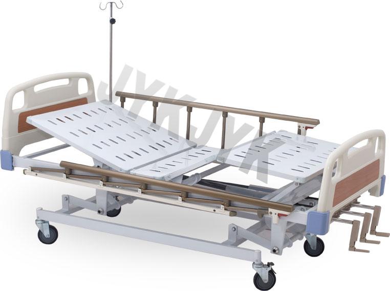 Manual Three-Function Hospital Bed