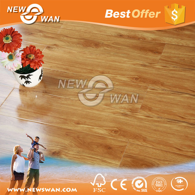 German HDF Laminate Flooring / Waterproof Wood Laminate Flooring