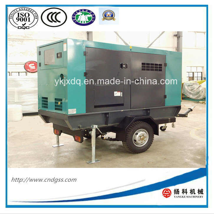 200kw/ 250kVA Trailer Silent Diesel Generator with ATS