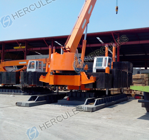 Hydraulic Static Pile Drivers (HJYZ series)