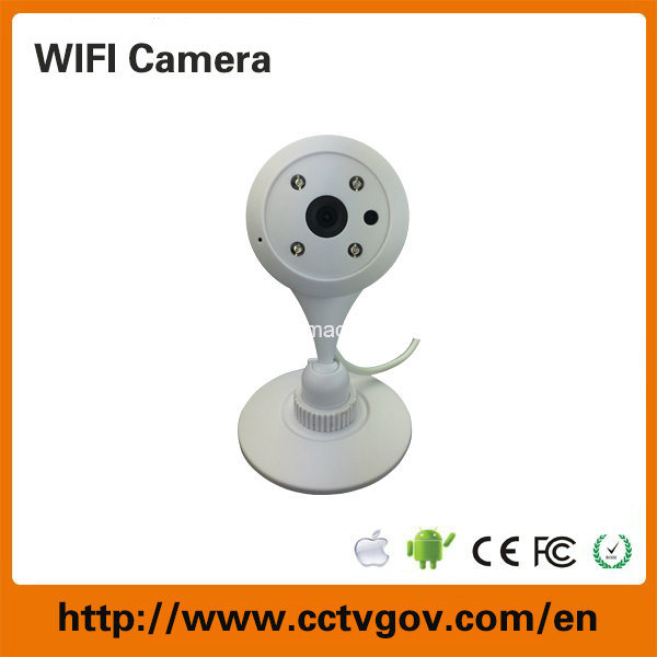 Mini Night Vision CCTV IP Security Camera with Wireless WiFi Network