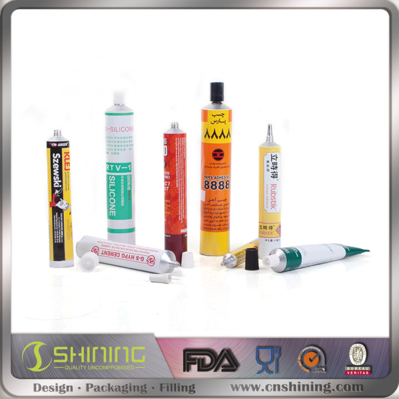 Soft Cleanser Facial Cream cosmetic Aluminum Tube