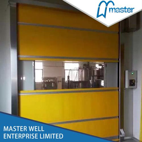 Warehouse Roll up High Speed Door/Rapid Roller Shutter Door