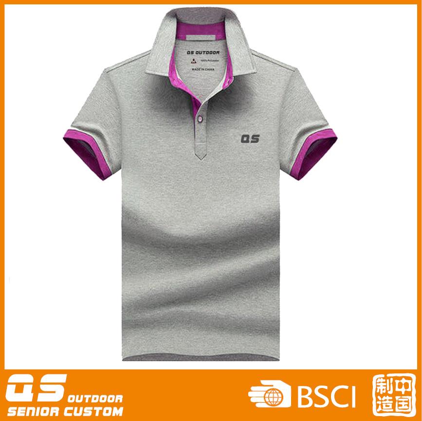 Men′s Polo Melange T-Shirt