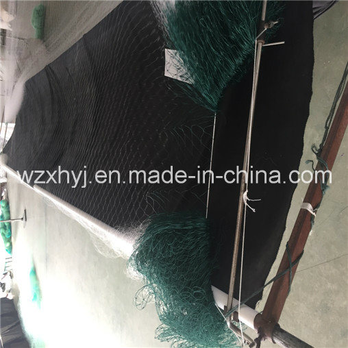 PE 4 Mesh Double Selvage Monofilament Fishing Net